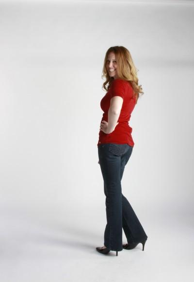 Shannon Gurnee Contact Us Redhead Mom Pose