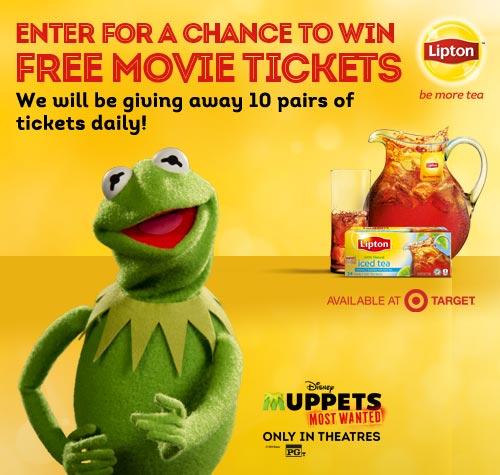 #MuppetsMostWanted #BeMoreTea #spon