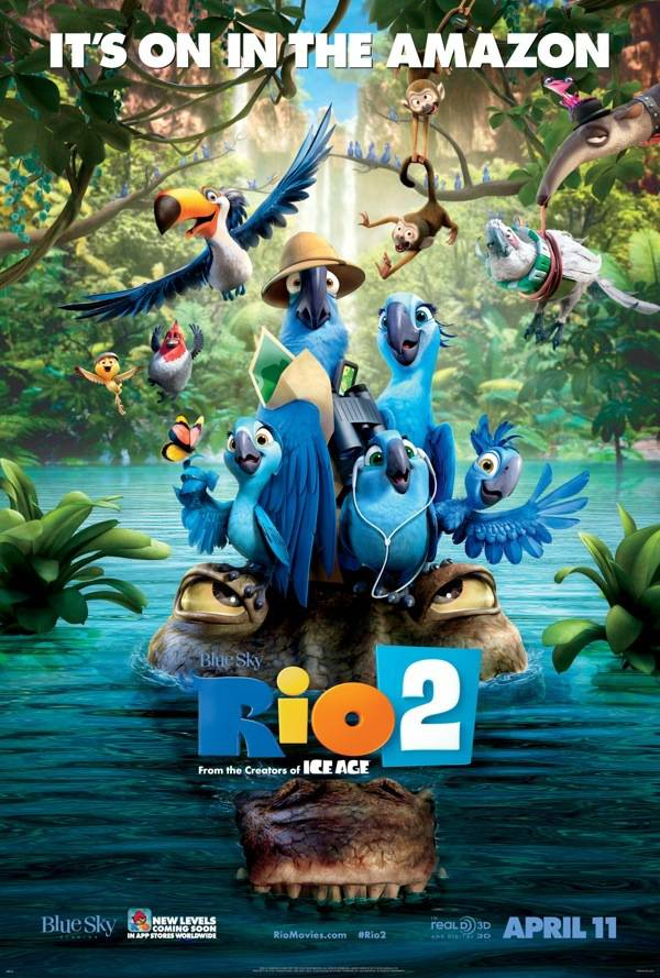 #Rio2 #Giveaway #Movie #spon