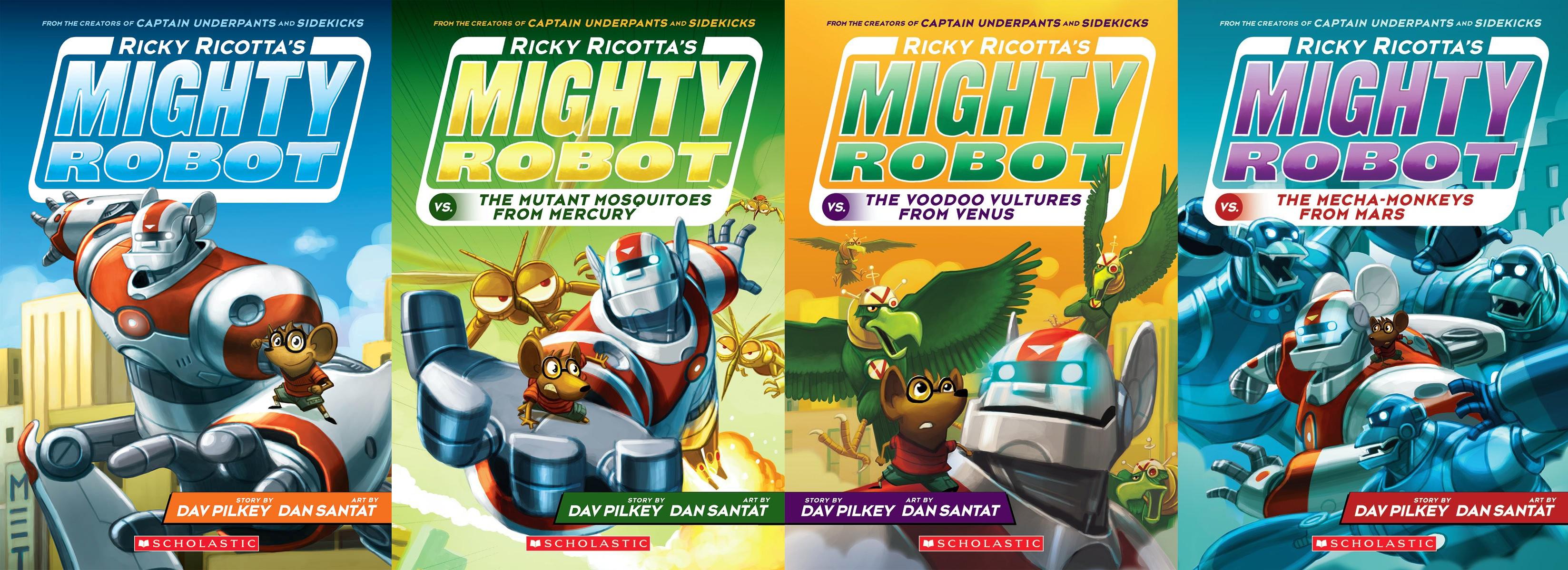 #RickyRicotta #Scholastic #Books #ad