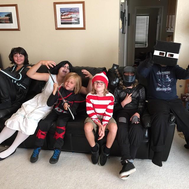 #PartyCity #Halloween #Costumes #OurBigFamily #HolidayFun #ad
