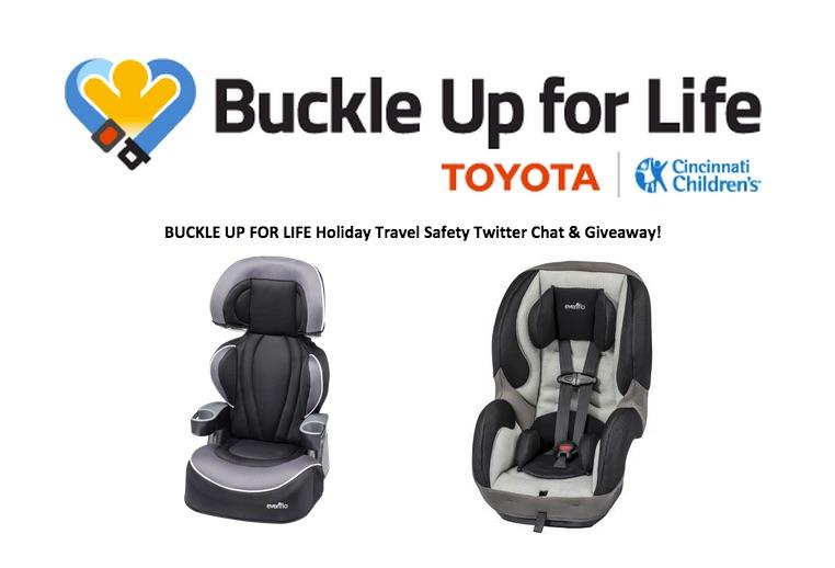 #BuckleUpForLife #Toyota #Giveaway #ad