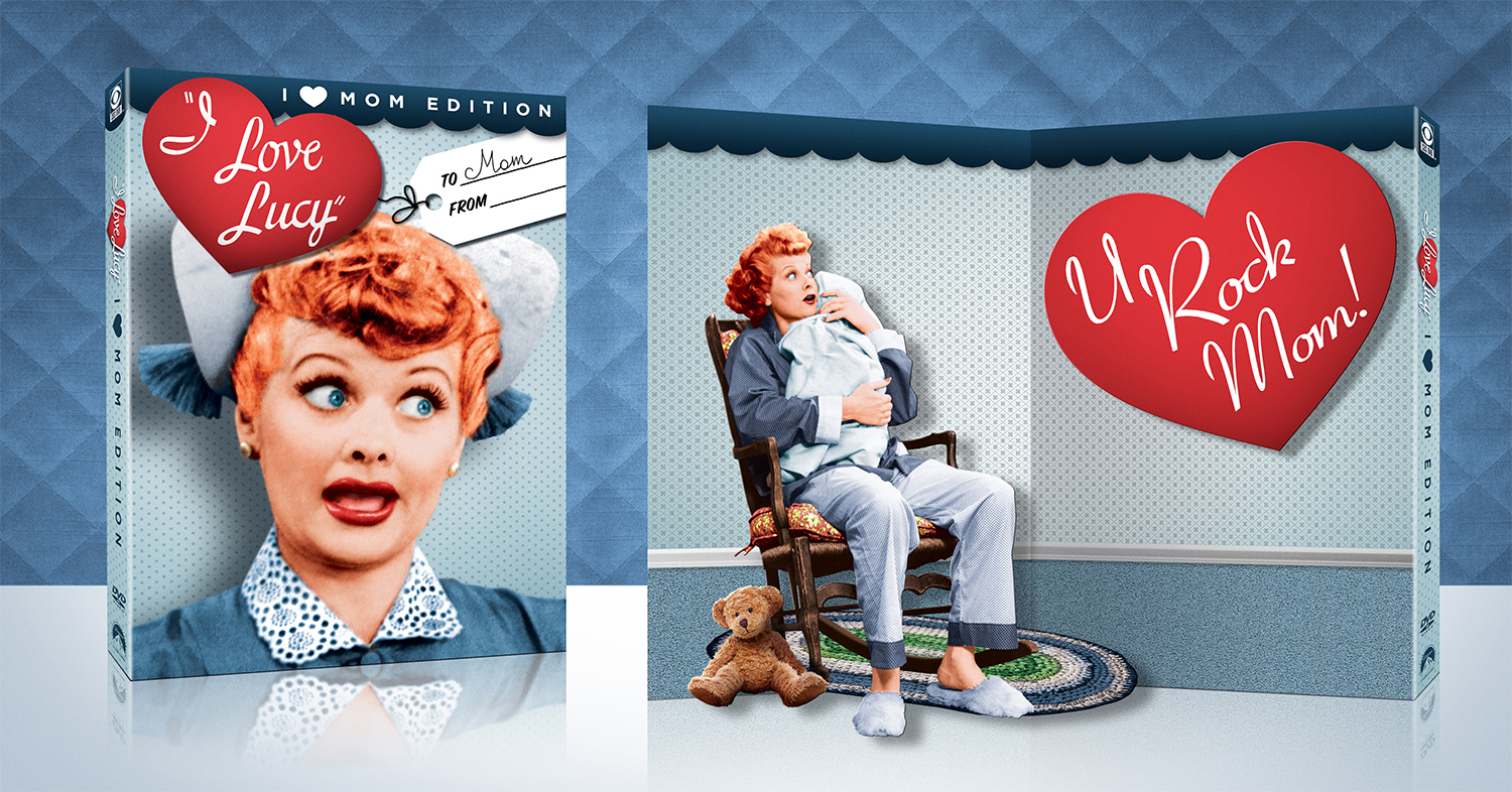 #ILoveLucy #MothersDay #ad
