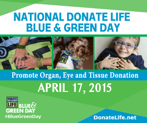 #NationalDonateLifeMonth #ad