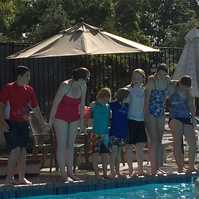 #Swimming #Family #FamousFootwear #ad