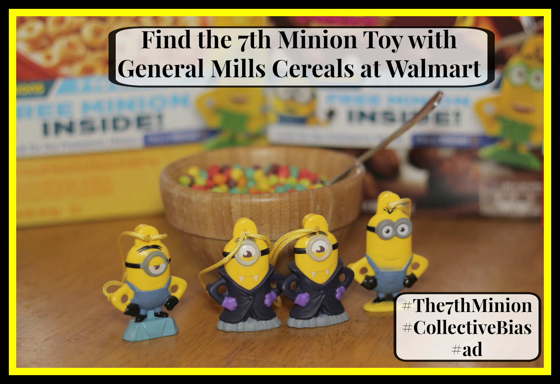 #The7thMinion #CollectiveBias