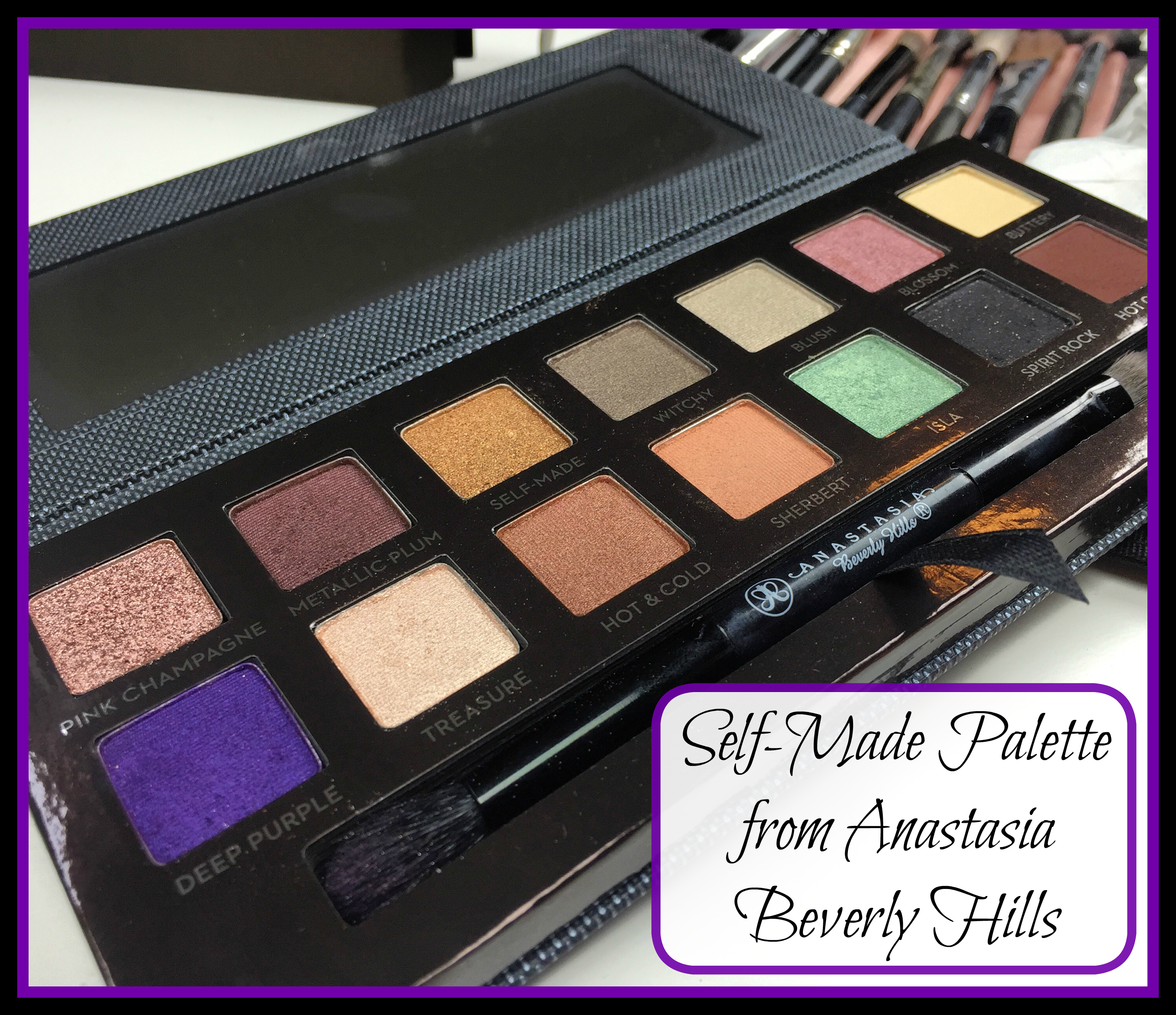 #Anastasia #Sephora #makeup #beauty #bblogger #bbloggers