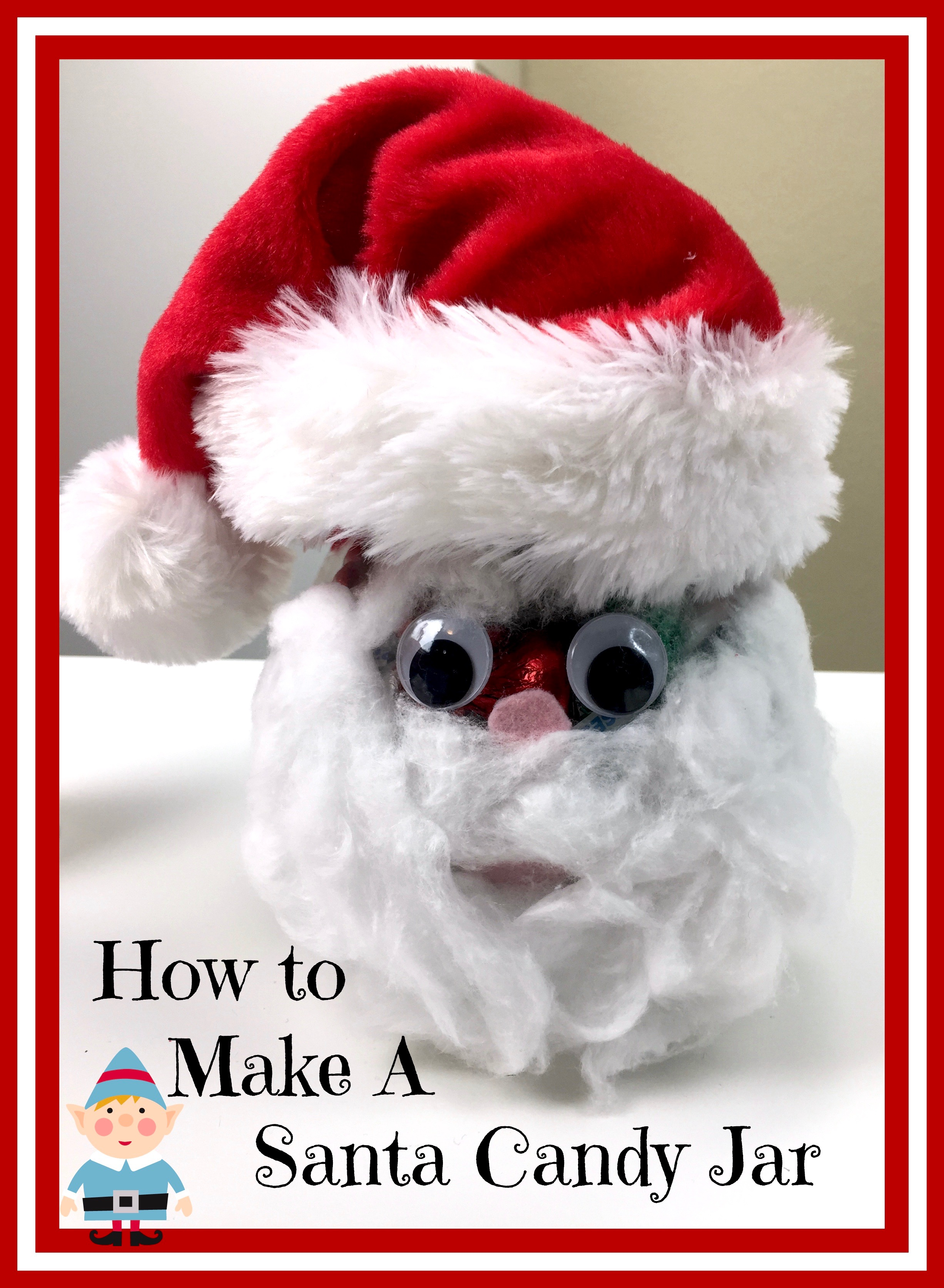 #Santa #Holidays #DIY #Crafts #HolidayFun #Hershey #Candy