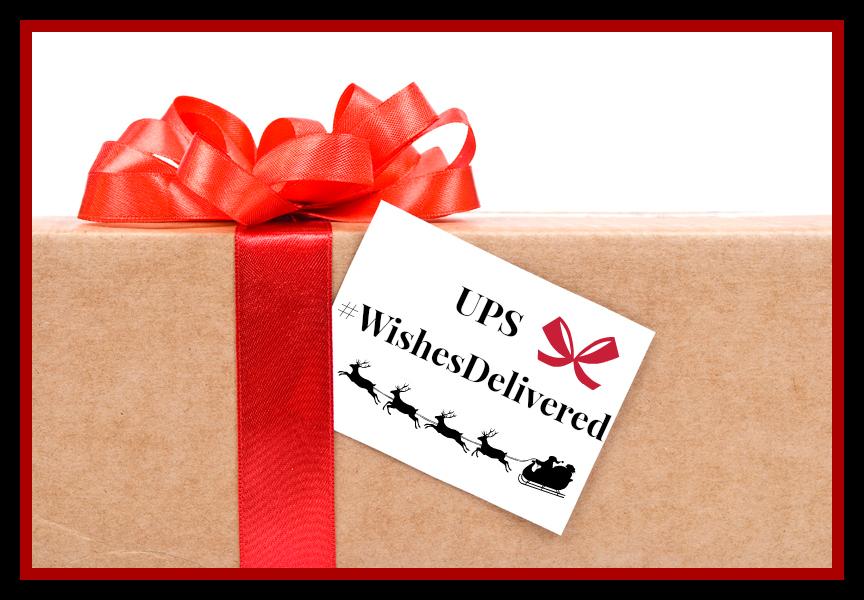 #WishesDelivered #UPSHolidays #ad