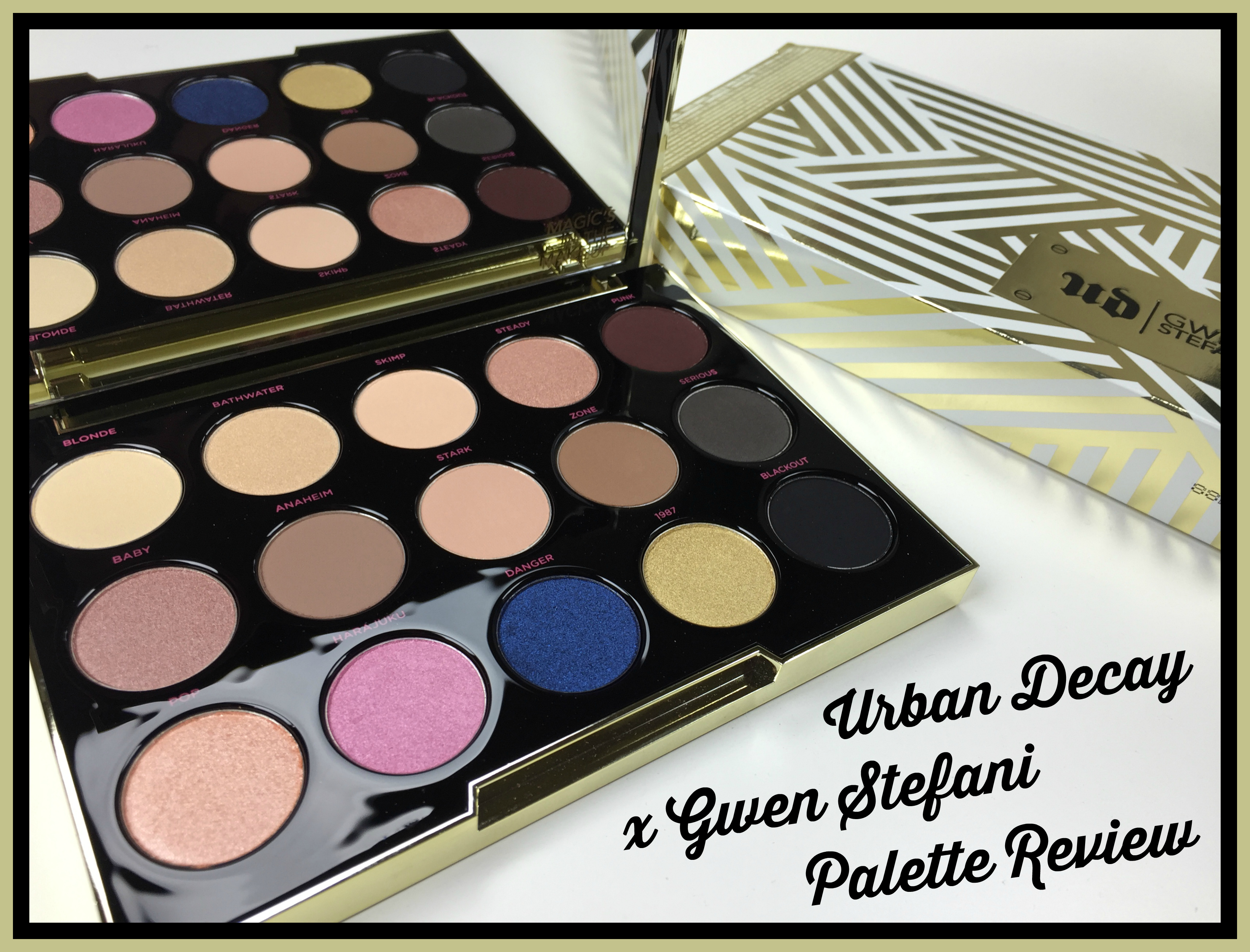 #UrbanDecay #GwenStefani #Makeup #Beauty #BBloggers
