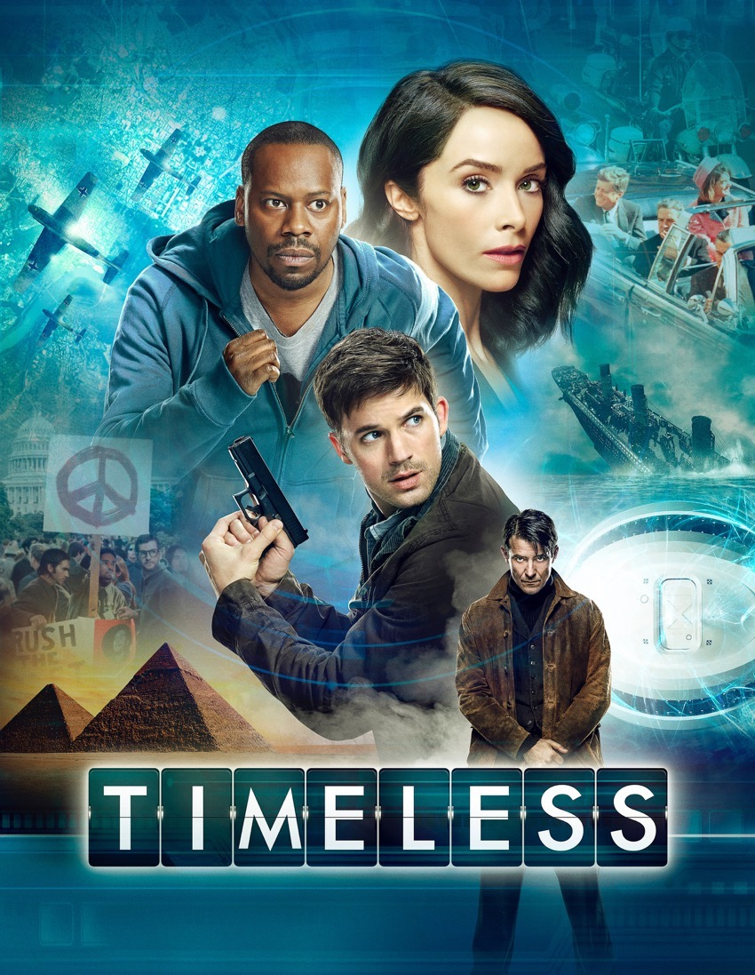#timeless #nbc #tv #ad