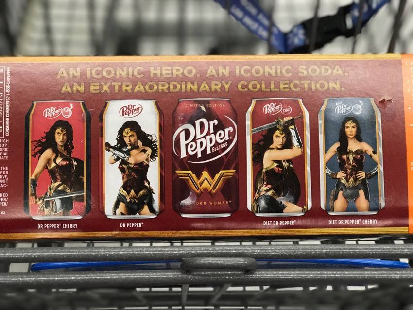 #food #foodie #drpepper #wonderwoman #ad