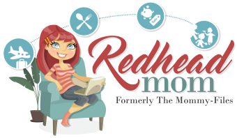 redhead mom formerly the mommy-files logo