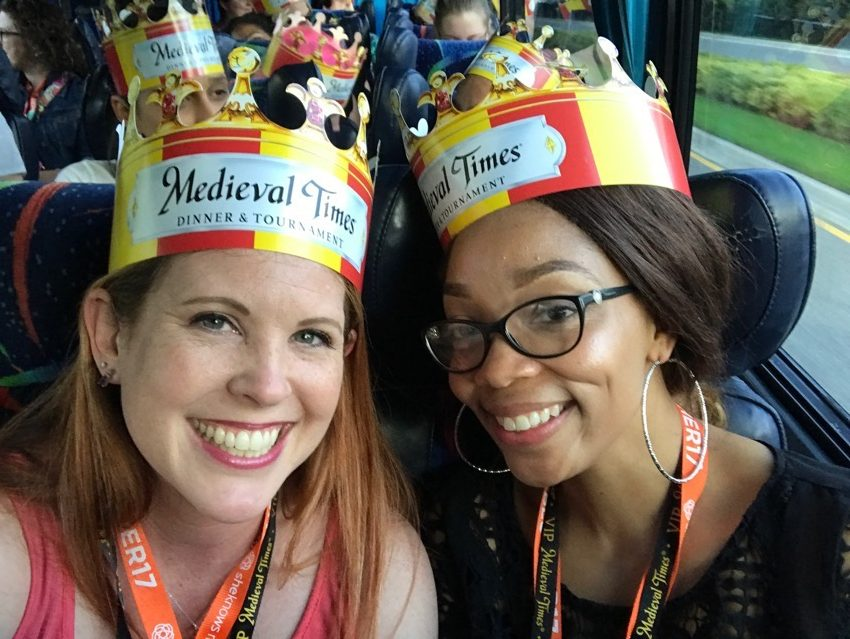 #blogher17 #blogher #medievaltimes #travel #blogger