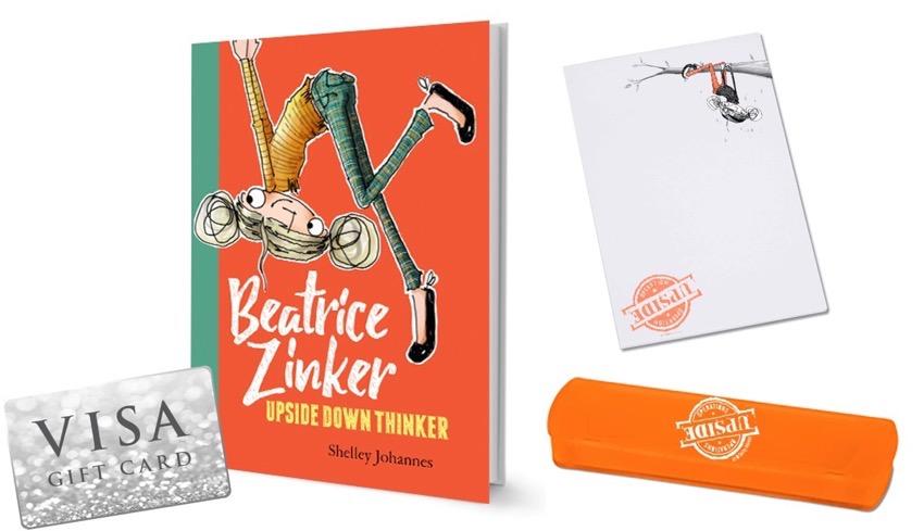 #BeatriceZinker #UpsideDownThinker #book #books #Disney #giveaway #ad