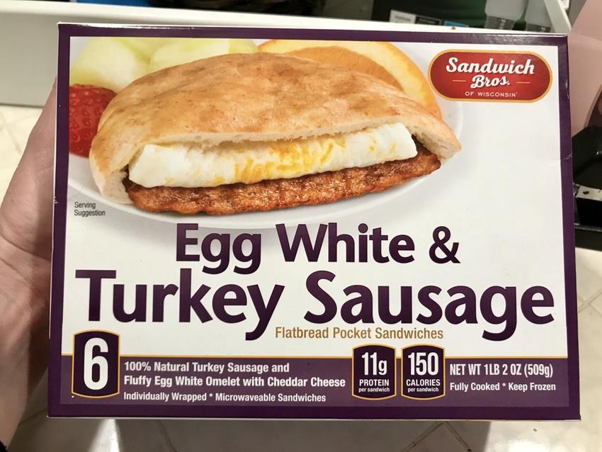 Sandwich Bros Breakfast #SandwichBros #food #foodie #FrozenFoodMonth #SandwichBrosFan #ad