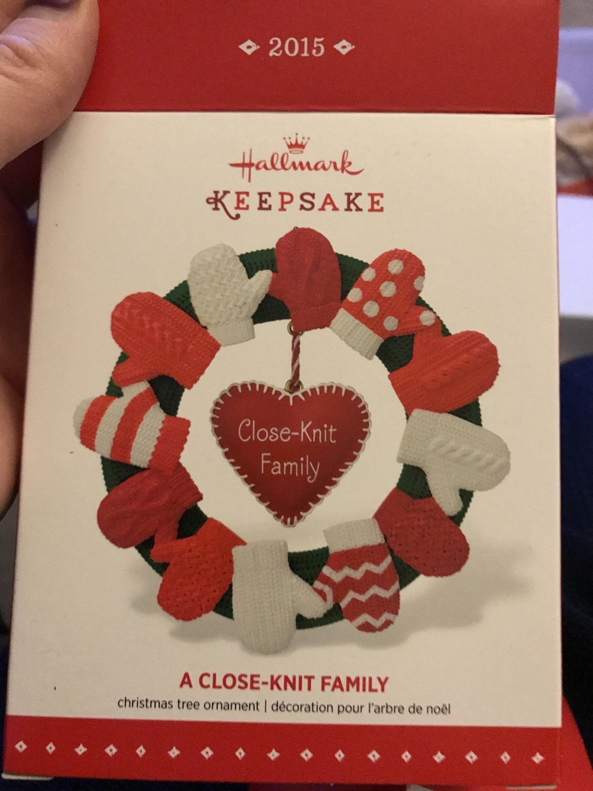 Hallmark Christmas Ornament #hallmark #christmas #ornament #family