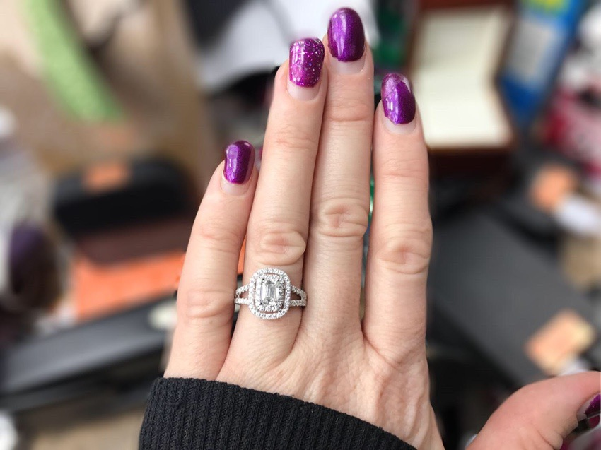 Costco Jewelry #Costco #Jewelry #fashion #beauty #diamond #ring