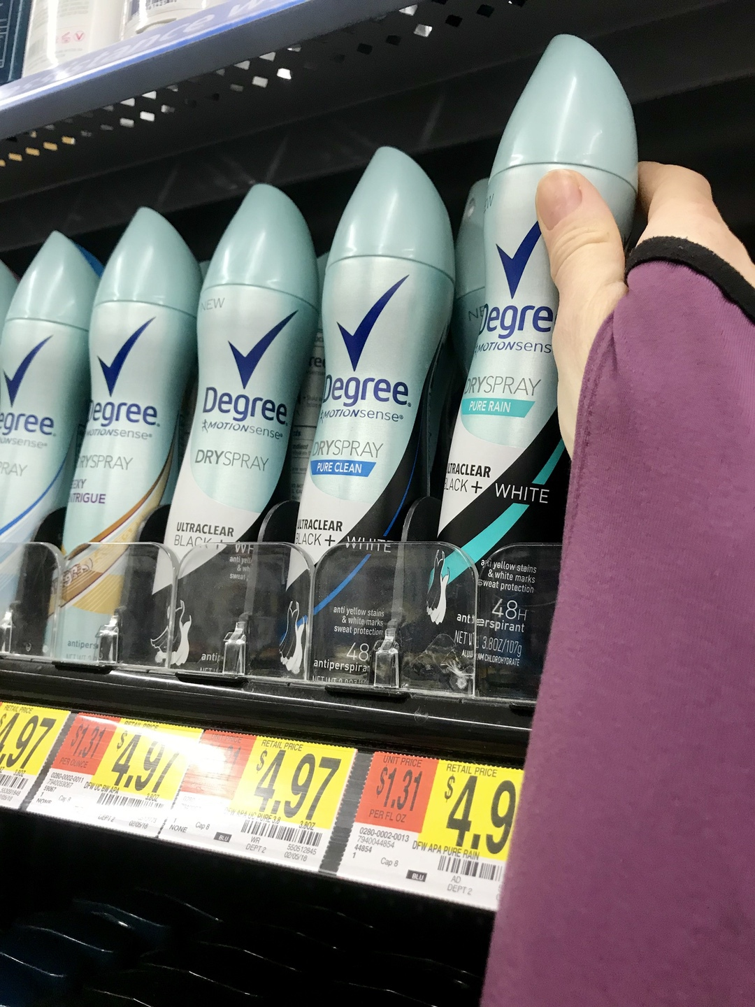 Mom Confidence #SavingStyleAtWM #beauty #motherhood #confidence #degreewomen #ad