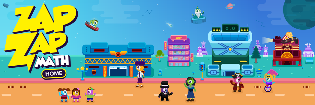 Zapzapmath Home #MathAtHome #math #app #technology #kids #ad