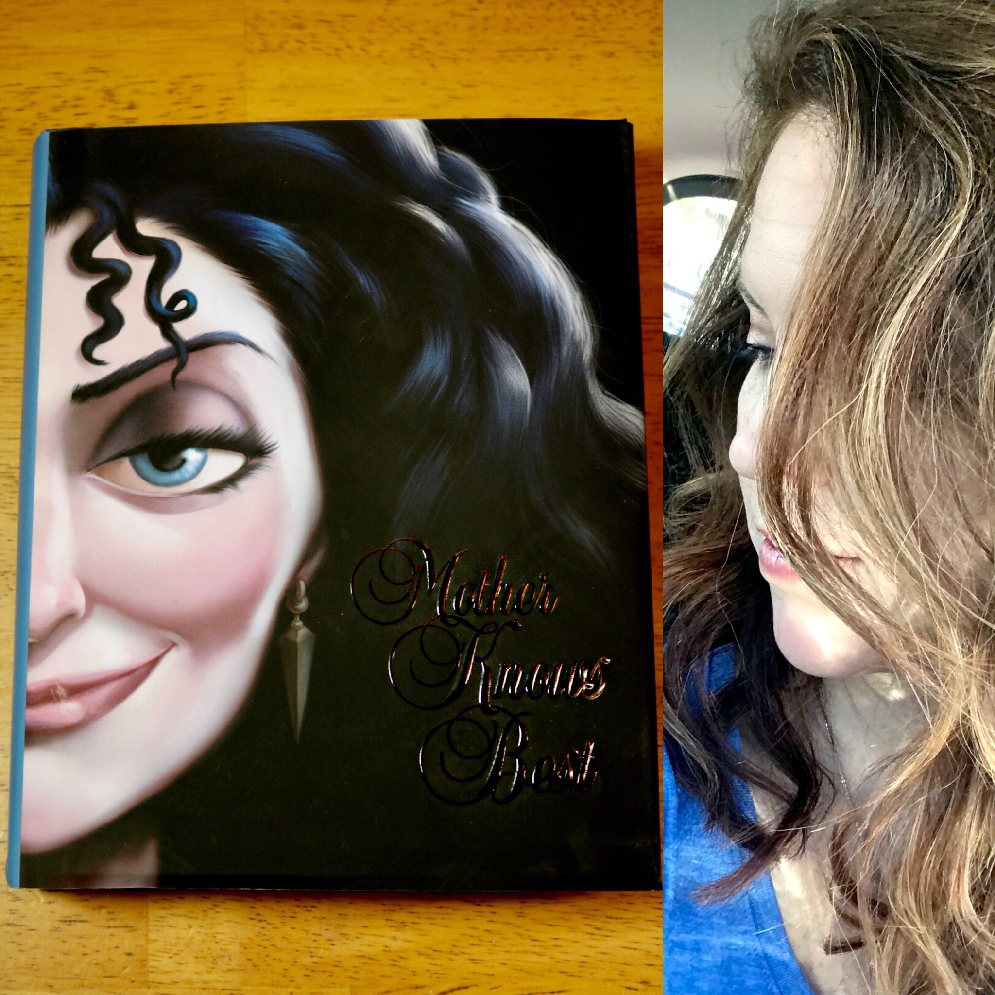 Mother Knows Best #MotherKnowsBest #DisneyVillainsBooks #books #disney #giveaway #beauty #hair #ad