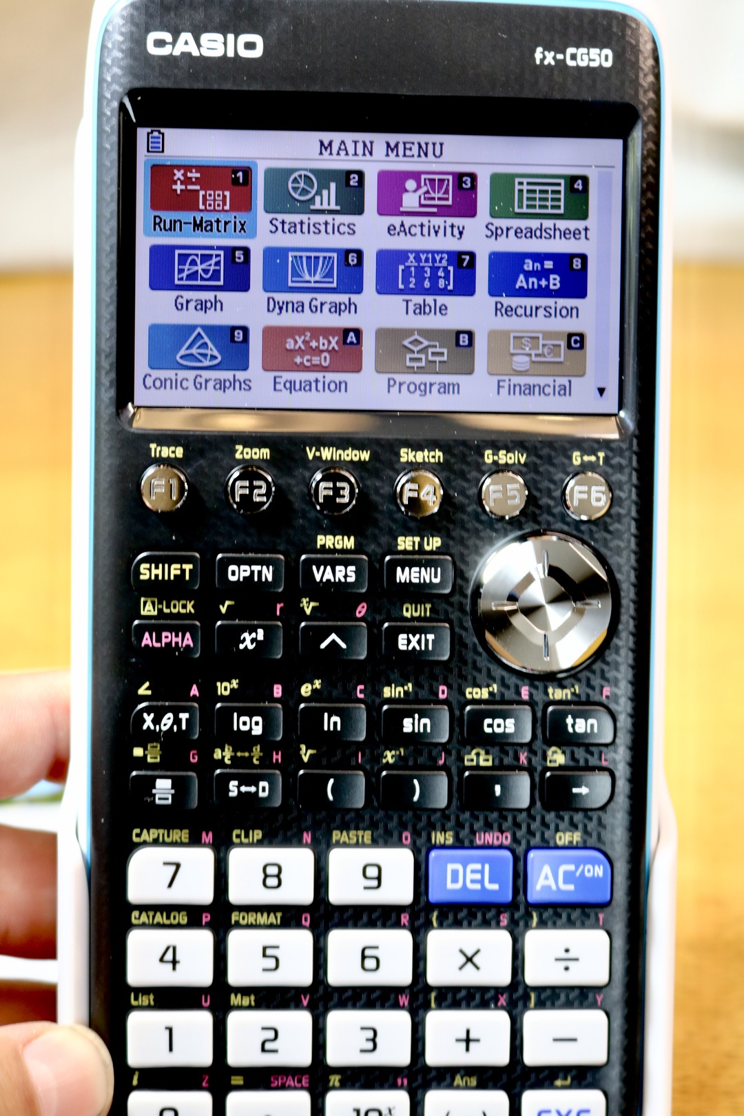 Casio PRIZM Graphing Calculator #Casio #GraphingCalculator #Calculator #math #education #school #ad