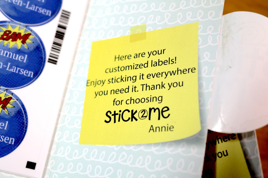 Stick2Me Labels #Stick2Me #labels #school #home #kids #ad