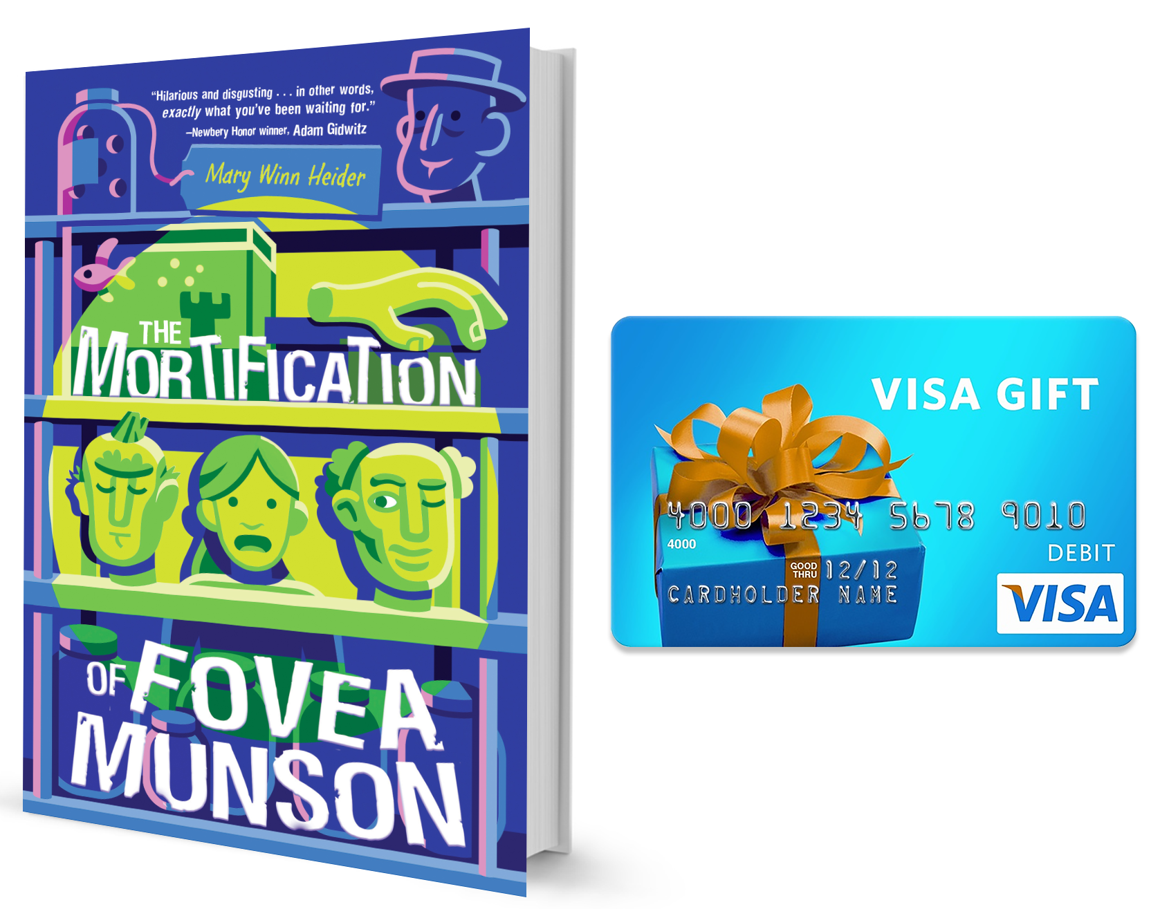 The Mortification of Fovea Munson #MortificationOfFoveaMunson #book #giveaway #DisneyBooks #ad