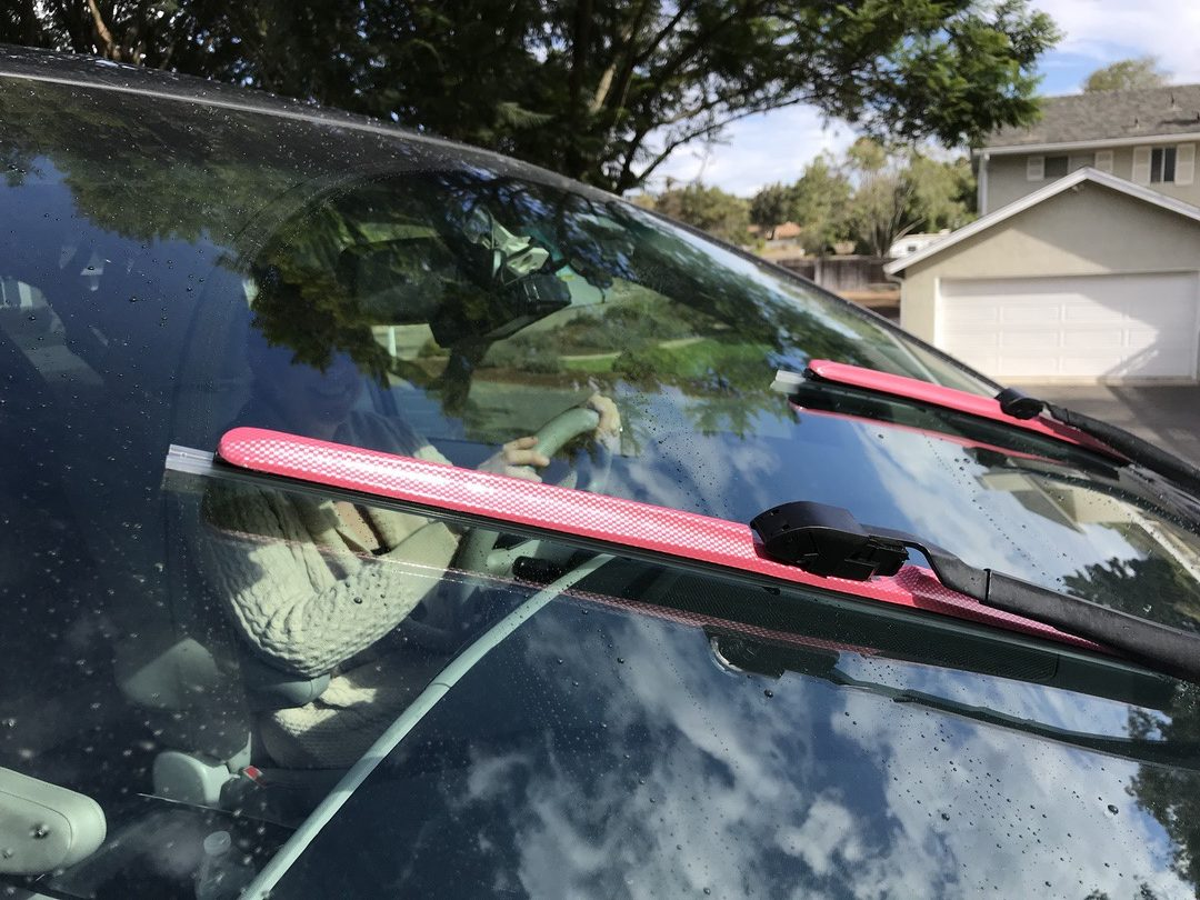 AutoTex PINK Windshield Wipers #WipeOutBreastCancer #ad