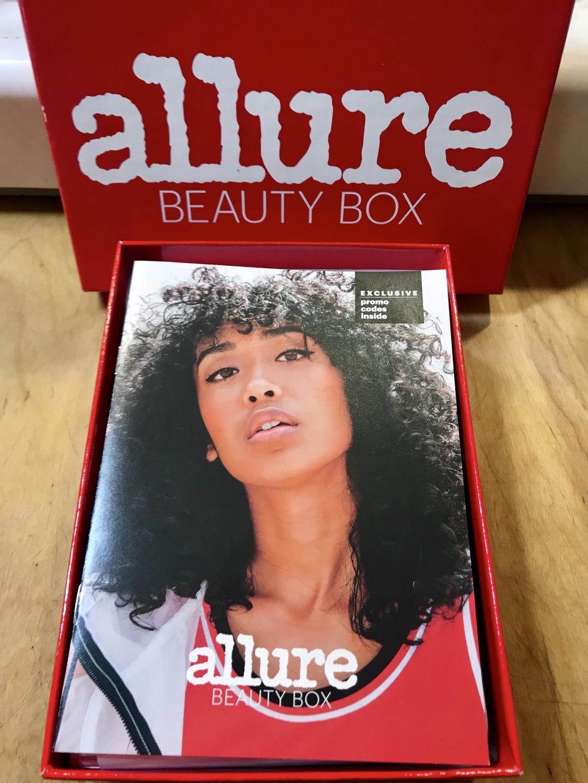 Allure Beauty Box August 2018 #allure #allurebeautybox #beautybox #beauty #makeup