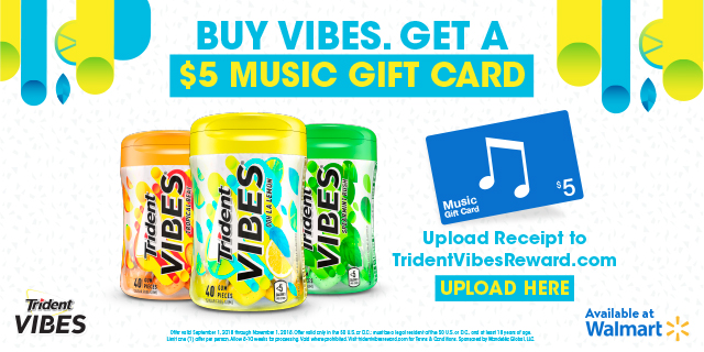 Trident Vibes Gum Promo #TridentVibes #CollectiveBias #ad