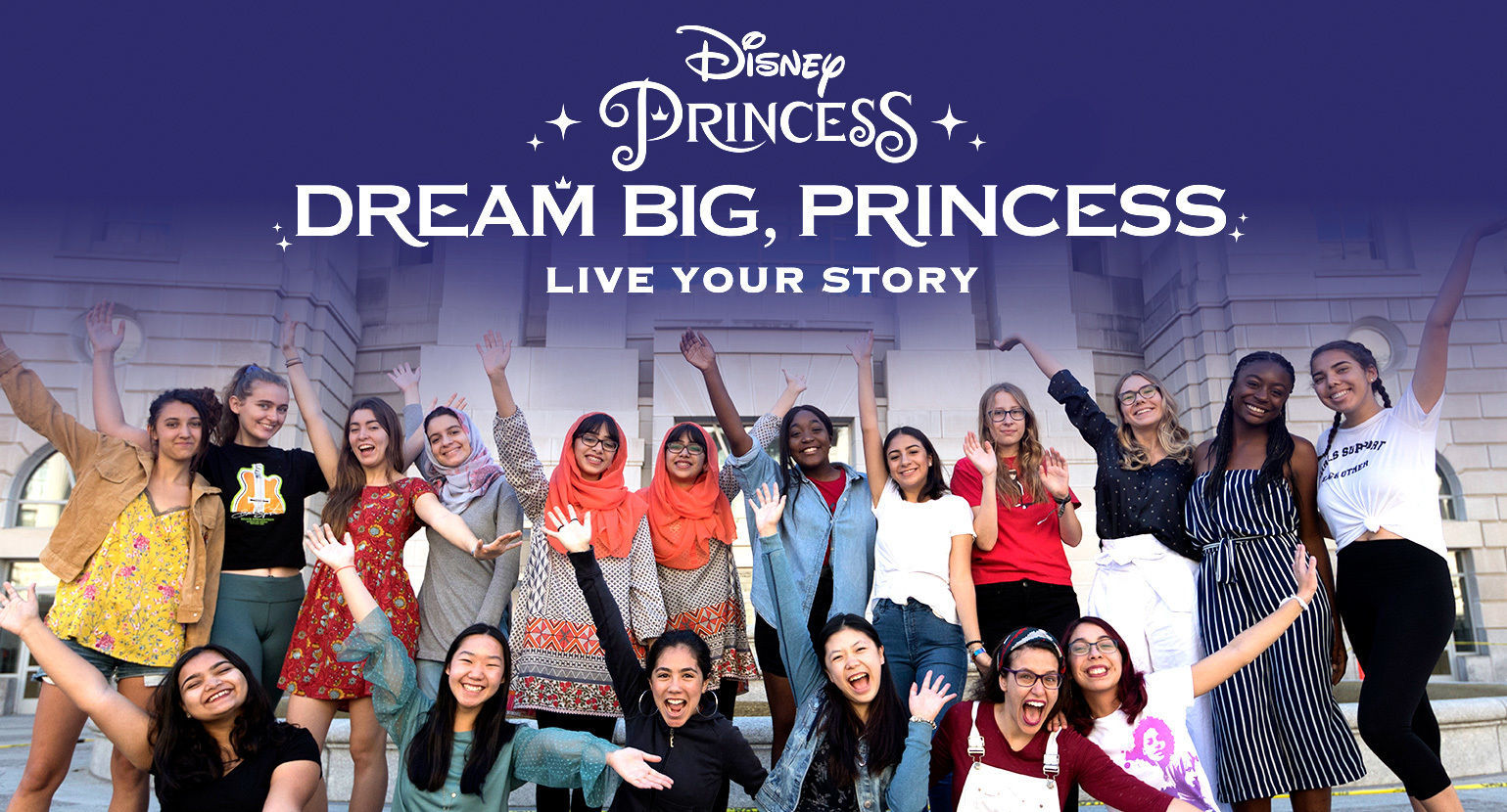 Disney #DreamBigPrincess #Disney #girlup