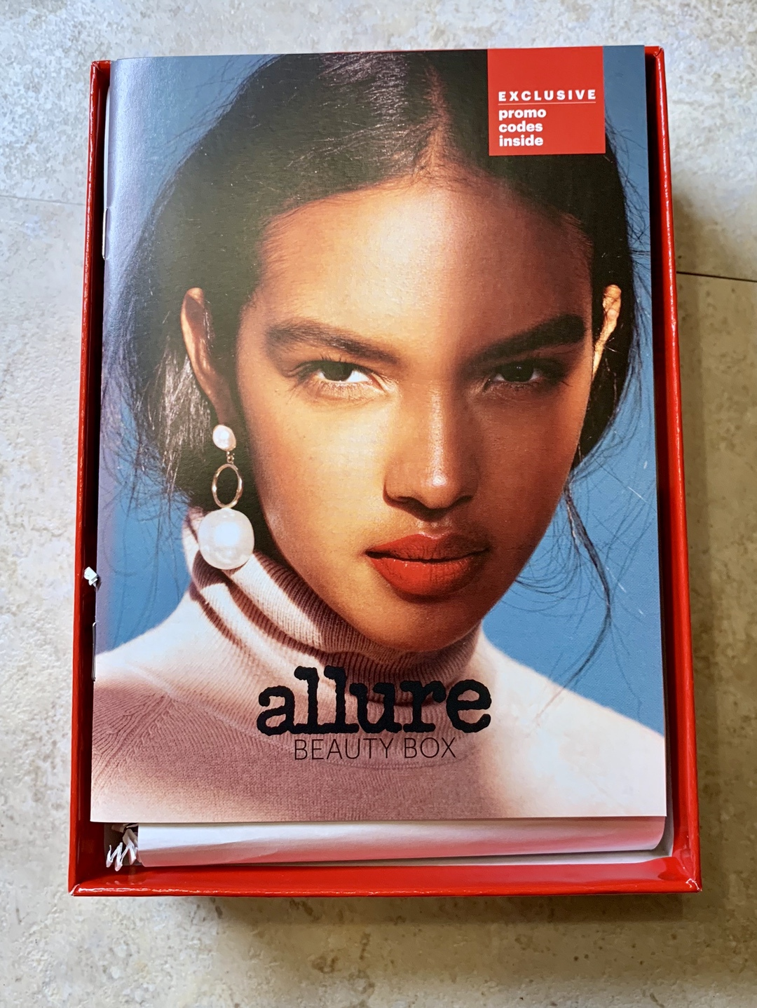 Allure Beauty Box October 2018 #Allure #AllureBeautyBox #beauty #makeup #subscriptionbox #beautyblogger