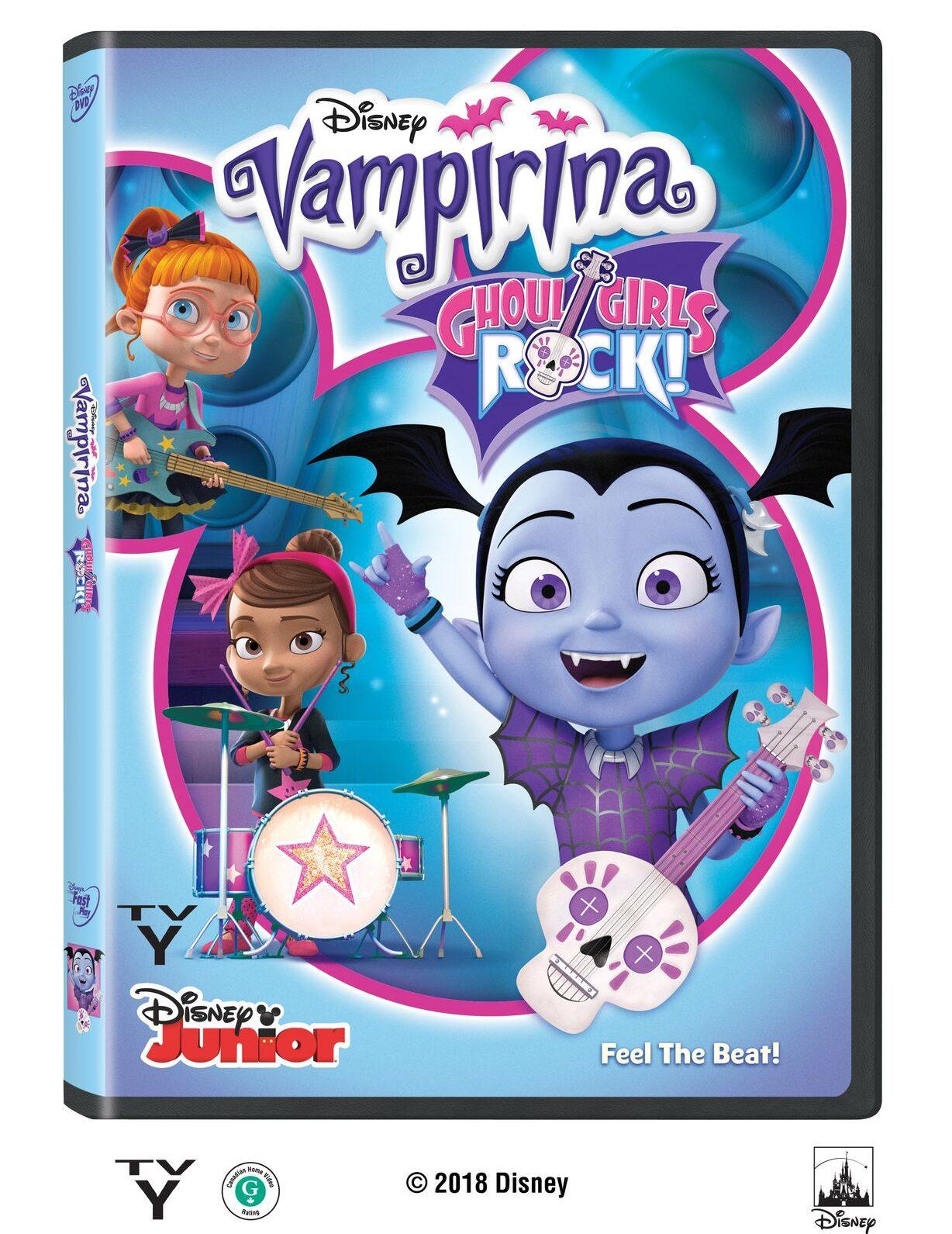 Vampirina: Ghoul Girls Rock DVD #Vampirina #DVD #movies #ad