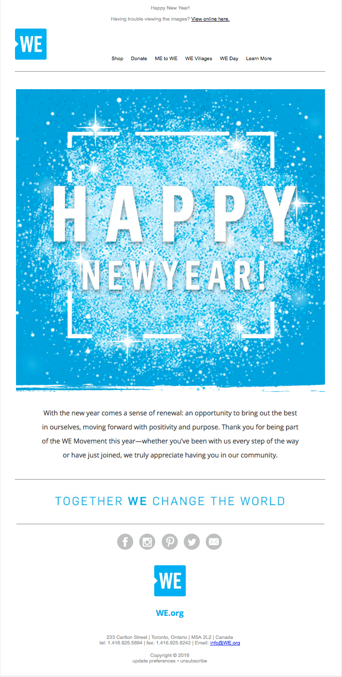 New Year #Emma #NewYear #email #Marketing #ad