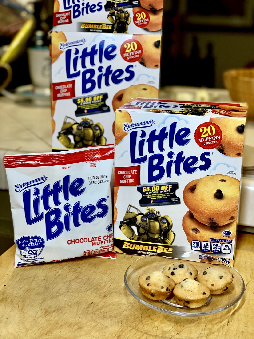 Entenmann's and Bumblebee Movie Deal #Entenmanns #BumblebeeMovie #Bumblebee #movies #giveaway #ad