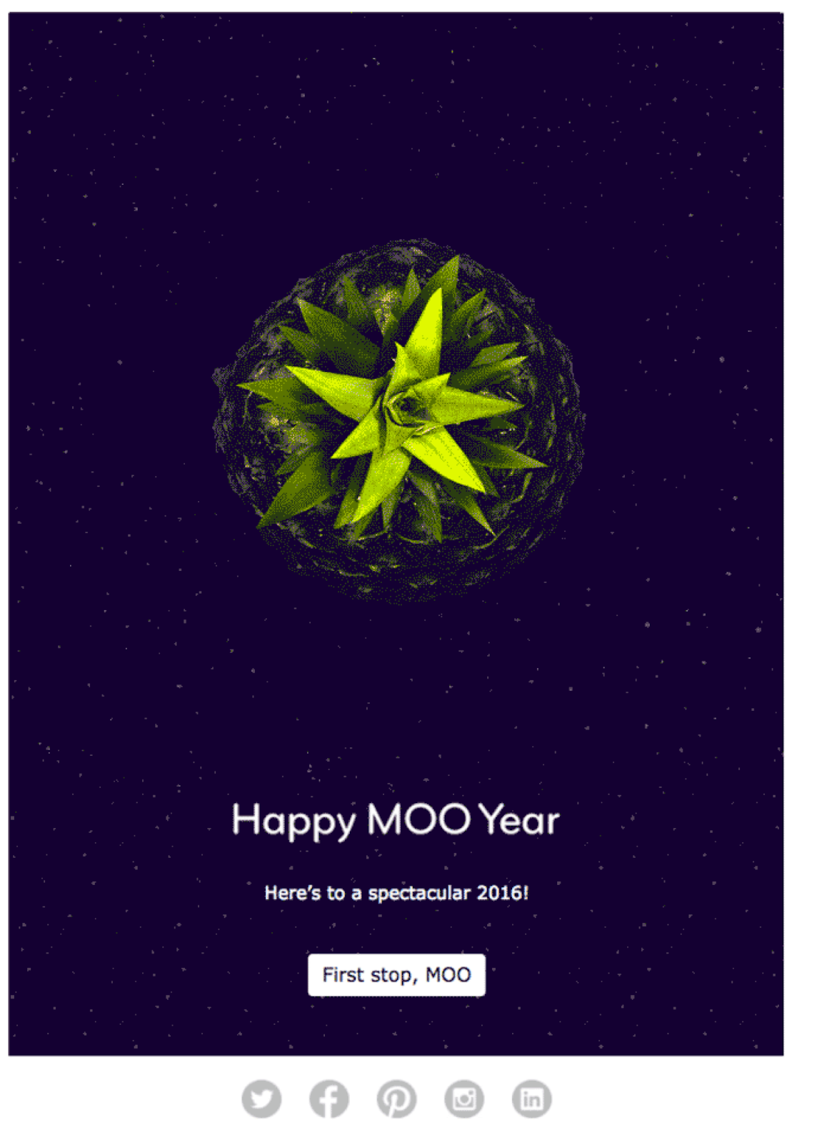 Moo New Year #Emma #NewYear #email #Marketing #ad