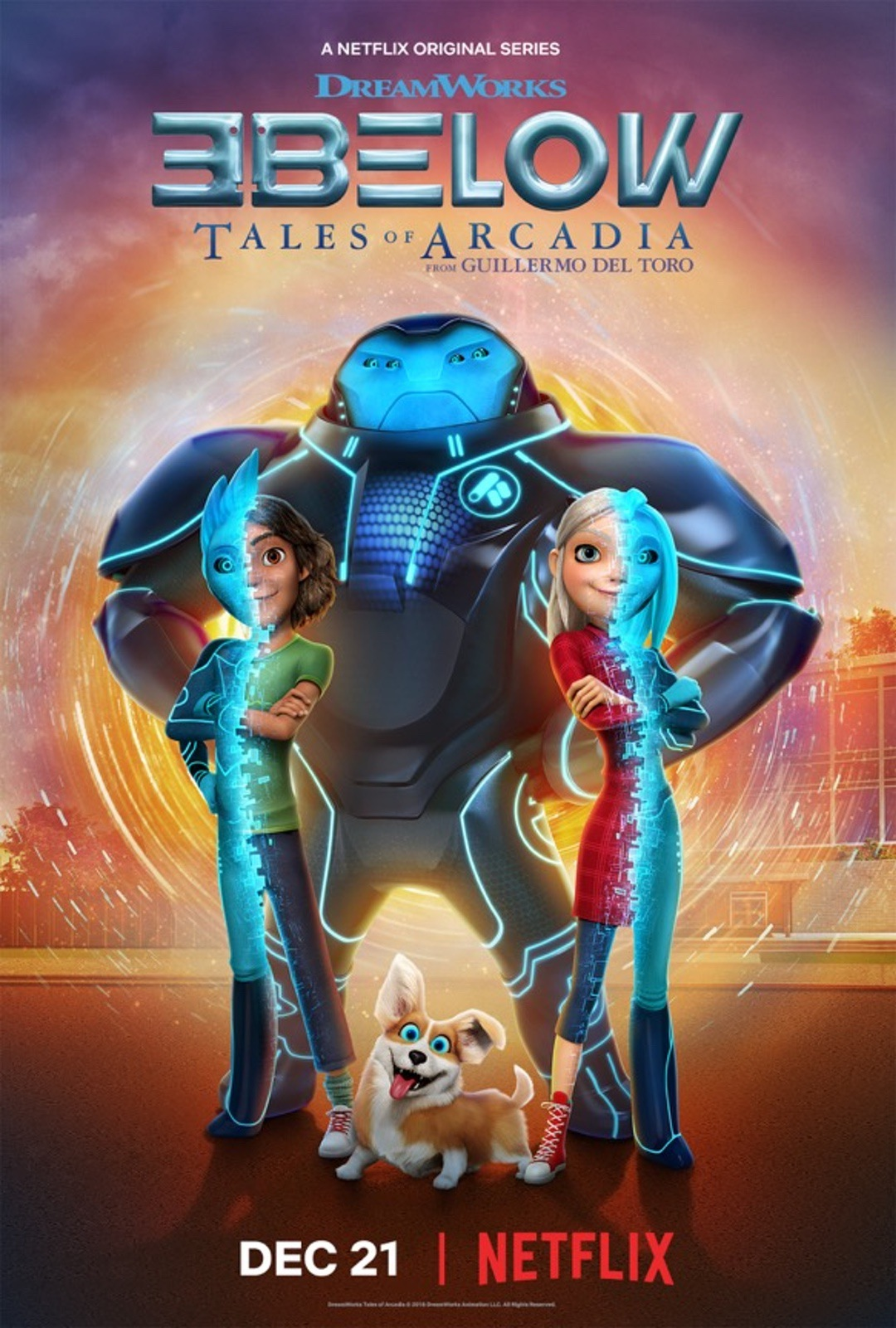 3Below: Tales of Arcadia Season 1 #DWA #3Below #Netflix #ad