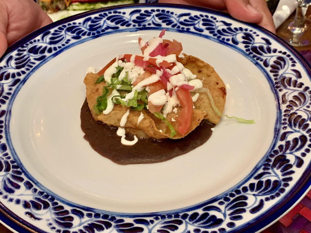 Traditional Mexican sopes