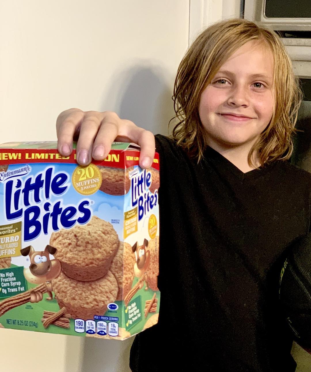 Entenmann's Little Bites Churro Muffins #Entenmanns #LittleBites #LoveLittleBites #LBChurro #Giveaway #ad