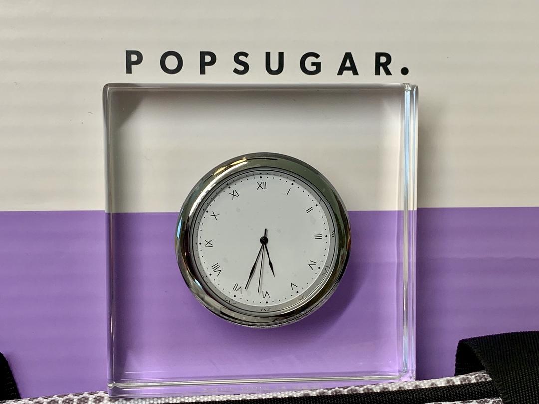 Clock from popsugar spring box