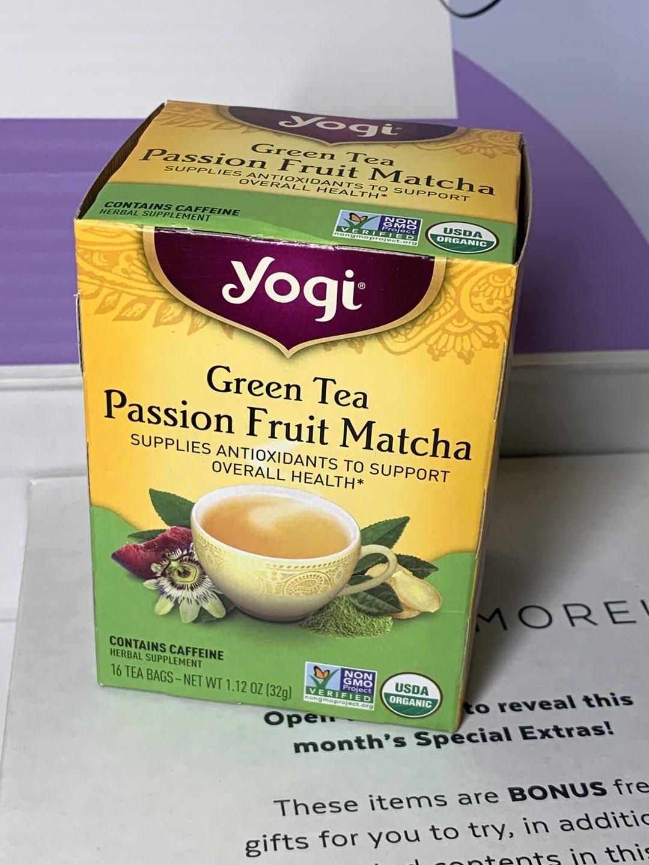 Yogi Green Tea Passion Fruit Matcha Tea
