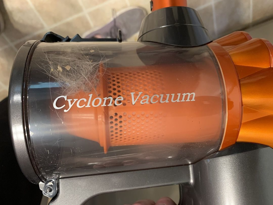 dustbin of stick vacuum cleaner