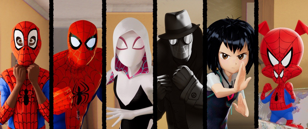 Spider-Man: Into the Spider-Verse characters