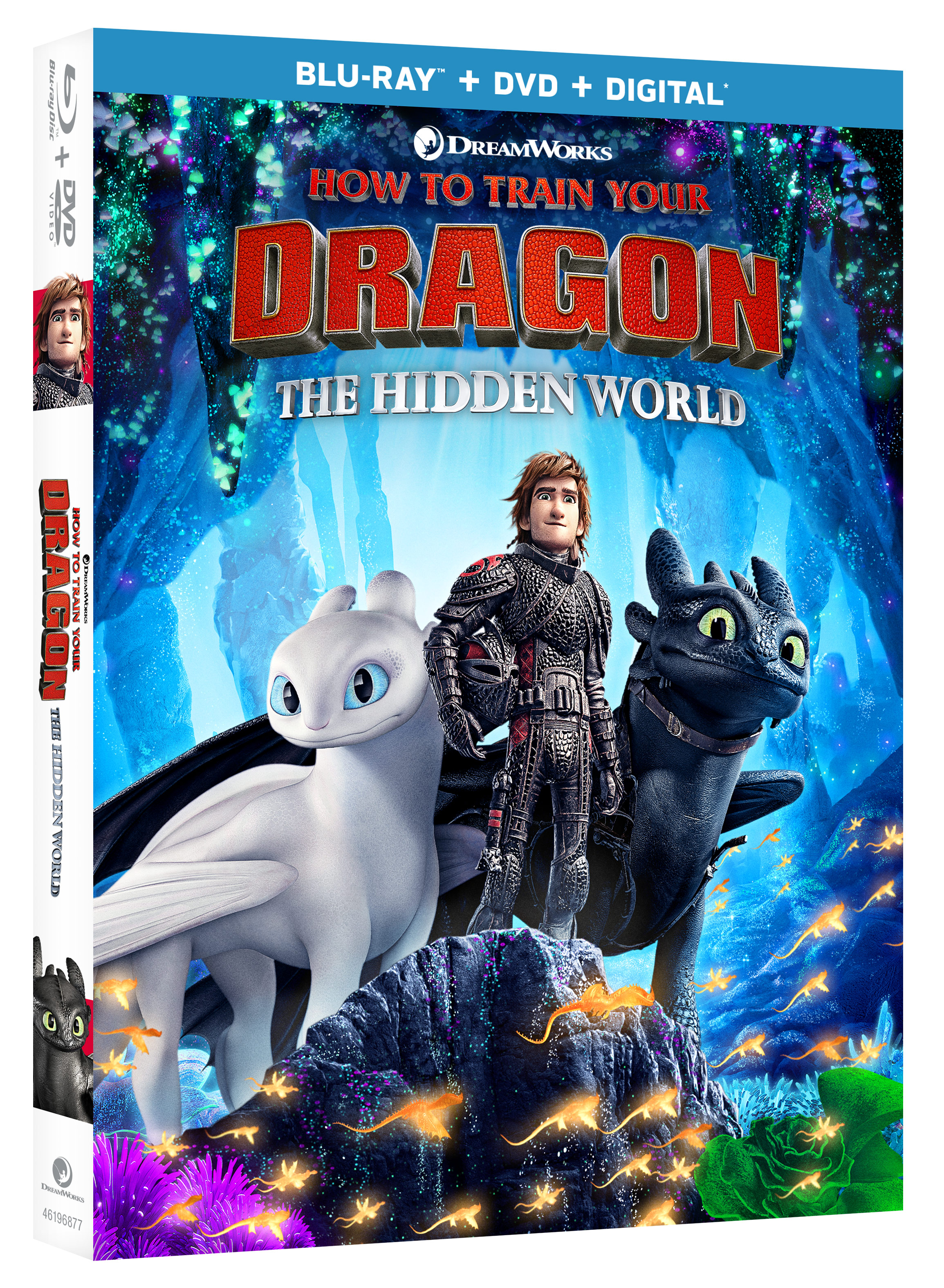 How to Train Your Dragon: The Hidden World on Blu-ray and DVD