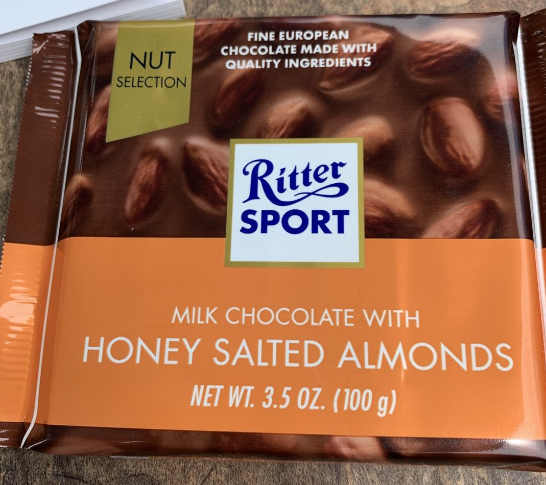 Ritter Sport Chocolate - Honey Salted Almond