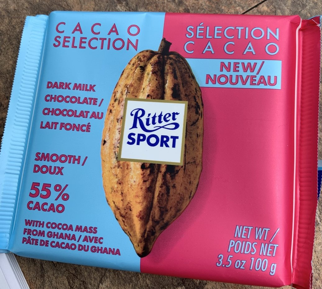 Ritter Sport Dark Milk Chocolate - Smooth