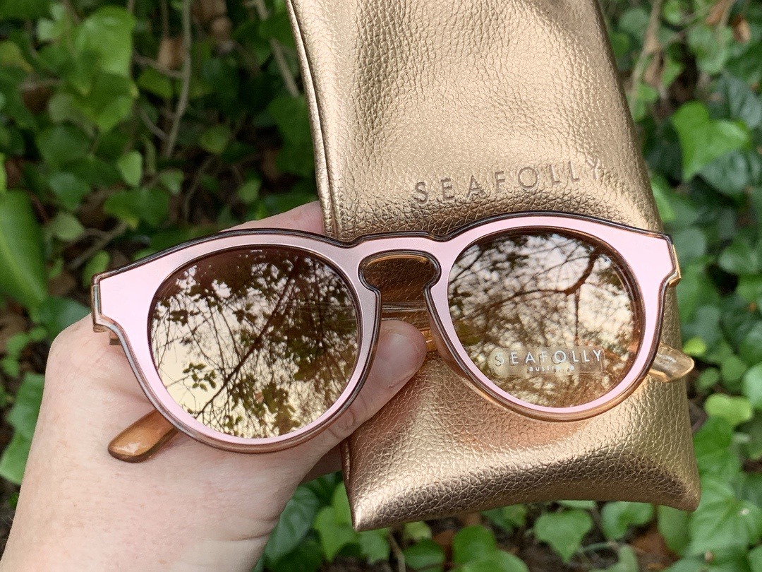 SEAFOLLy Bronte Sunglasses in Blush