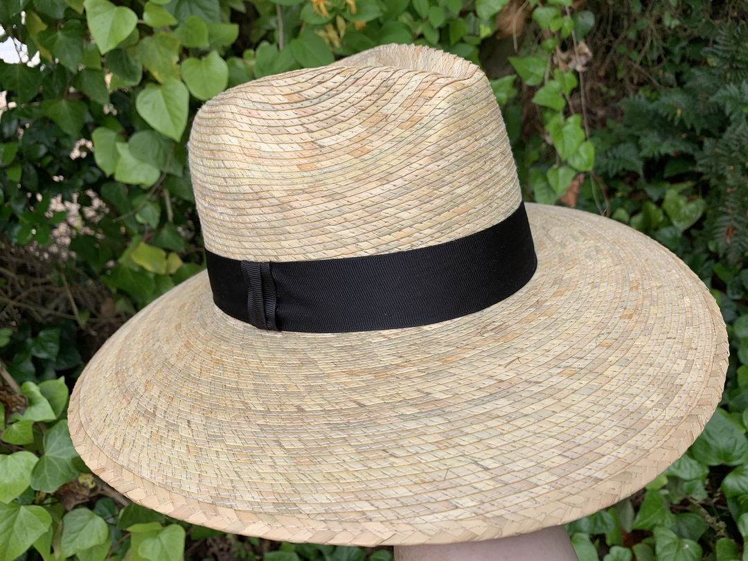Brooklyn Hat Co Palm Fiber Safari Hat
