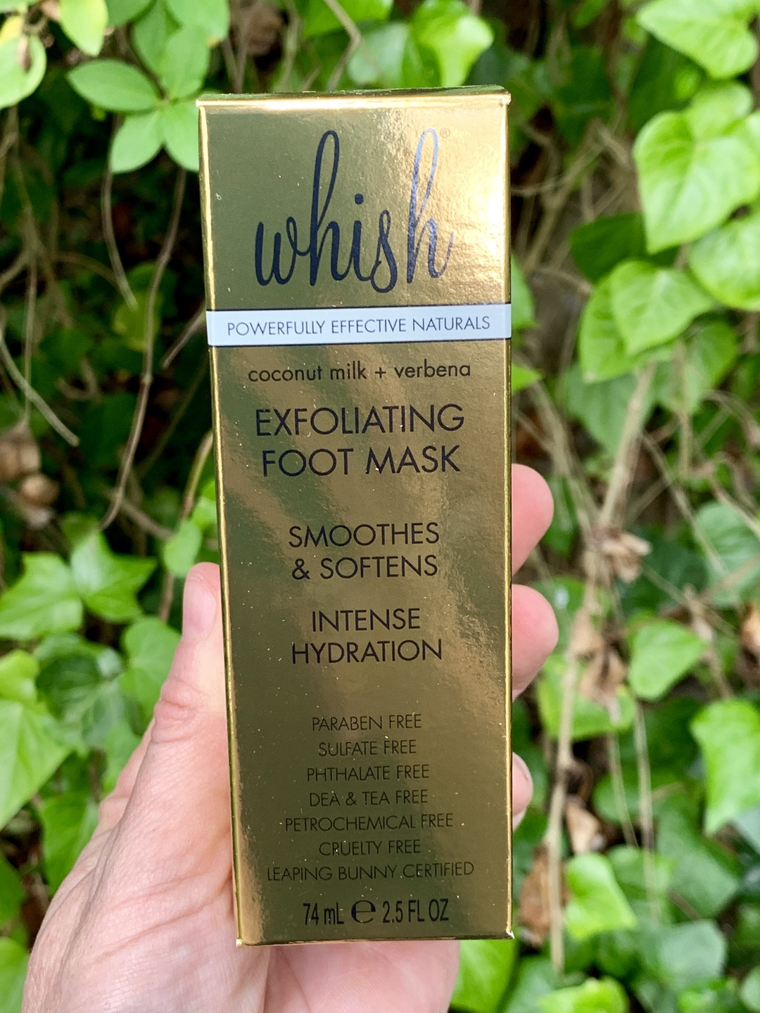 Whish Exfoliating Foot Mask